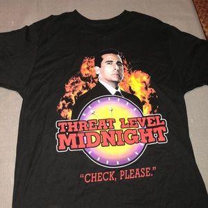 "The Office ""Threat Level Midnight"" T-shirt"
